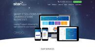 Создание сайта и разработка дизайн сайта для Star IT Limited