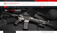Создания сайта и разработка дизайн сайта для My Tactical Supply