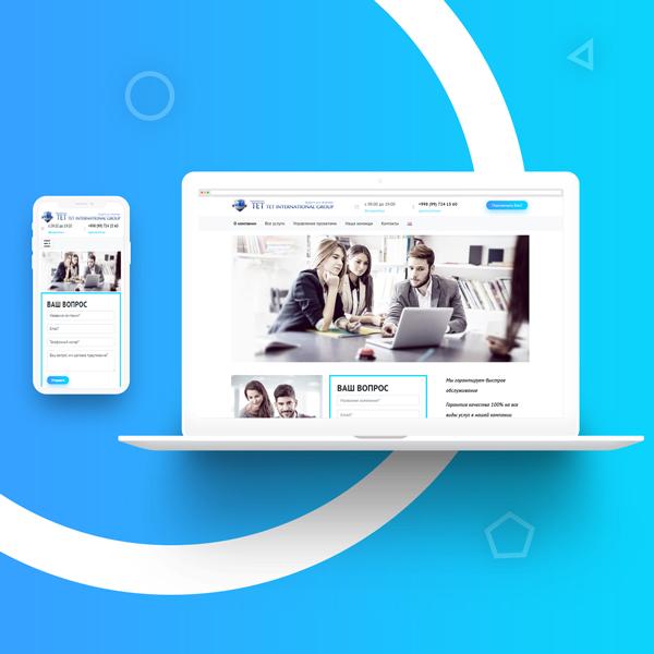 Создание сайта и разработка дизайн сайта в Ташкенте для uzyurist.uz