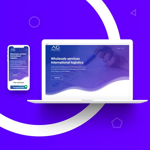 Создание сайта и разработка дизайн сайта в Ташкенте для anadoluist.com